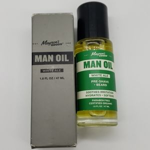 Mayrons Goods White Ale Man Oil Pre-Shave + Beard